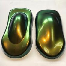 Polvo de camaleón que cambia de color para la pintura de automóviles.