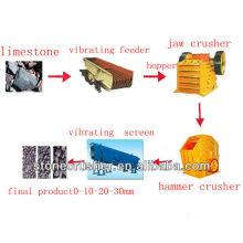 Каменная производственная линия, каменная дробилка, дробильная установка