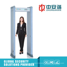 High Precision Quick Scanning Metal Detector Gate for Military Base