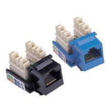 ethernet jack 180 degree rj45 modular jack cat5 cat5e cat6 cat6e cat7 for cat5e lan cable