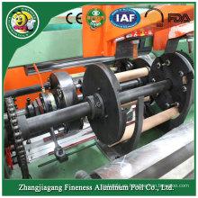 Máquina manual de rebobinado de papel de aluminio de venta caliente más nueva