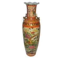 Jarrón de porcelana Satsuma