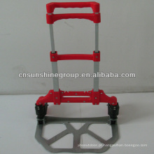 Lightweight aluminum folding luggage trolley cart with low price