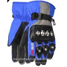 2016 neue Stil Motocross Handschuhe, Mikrofaser wasserdichte Motorradhandschuhe