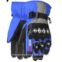 2016 nuevos guantes del estilo Motocross, guantes impermeables de la motocicleta de la microfibra