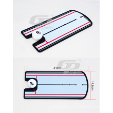 14.5 * 31 cm de tamaño nuevo producto y espejo de práctica de golf espejo de golf de alta calidad