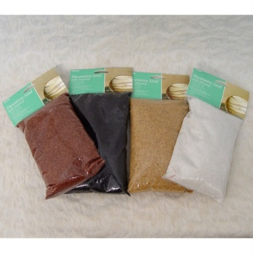 New Items Colored Silica Sands for Decoration