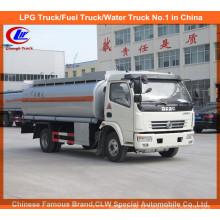 5000liter Dongfeng CUMMINS Combustível Bowser com Dispenser Machine