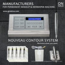 Machine permanente professionnelle de maquillage de tatouage de nouveau contour