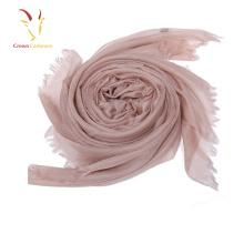 Bufanda de lana de sensación suave de alta calidad