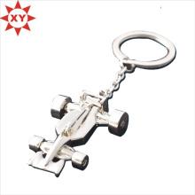 Flugzeug Form 3D Metall Schlüsselhalter mit Versilberung (XY-mxl91005)