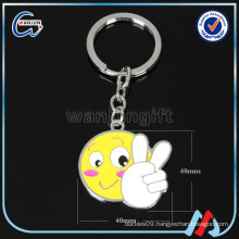 funky cheap wholesale metal keychain