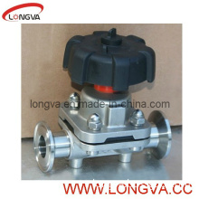 Sanitary Clamp Diaphragm Valve with Clamp End