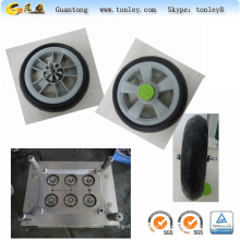 injection moulds for plastic parts baby pram wheel