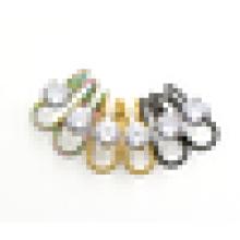Мода Clear CZ Кристалл уха клипа серьги манжеты