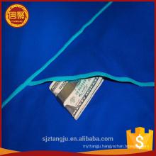 China alibaba microfiber towel with zipper pocket organic gym microfiber sport towel with zip pocket towel