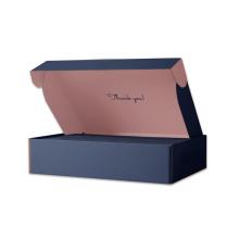 Pretty design subscription defferent colors printed mailer boxes black postal box