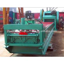 Máquina de laminação de tela de metal com barreira de poeira de vento