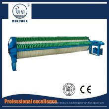 Prensa de filtro de cámara circular 800 para cerámica eléctrica de alto voltaje