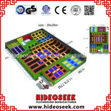 China Parque de Trampolim Indoor Profissional