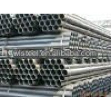 ASTMA53 / A106 B sch40 prix du tuyau en acier inoxydable