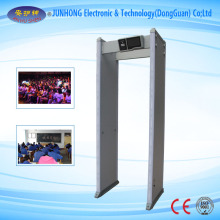 Anti-Interfering Metal Detector with Touch Screen