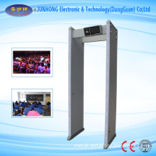 New Walk-Through Security Detector with Touch Screen