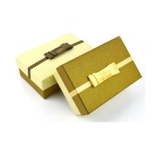 Caja de empaquetado de la cartulina de papel de lujo para el regalo, boda