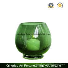 Runde Hurrikan Vase Bubble Ball für Kerze Lieferanten
