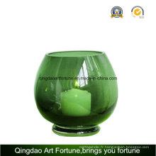 Boule de bulle à la ronde Hurricane Vase pour fournisseur de bougie