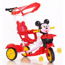 Children Tricycle Kids Baby Trike Tricycle with Plastic Figure