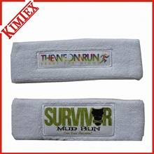 Sports Cotton Terry Promotion Sweatband et Headband