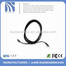 Trenzado 3.5mm Cable macho a macho Cable de audio estéreo AUX Cable auxiliar Cables AV 3.5mm a 3.5mm para iPod para iPhone PC MP3 Car