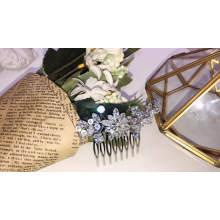 2020 New Design big rhinestone zircon wedding hair comb