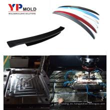 Molde auto del topetón del moldeo por inyección plástico del alerón del coche
