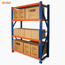 Medium duty steel warehouse long wide shelf for bulk storage