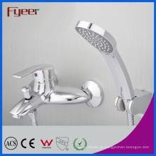 Fyeer alta qualidade banheiro banho chuveiro torneira com desviador