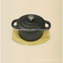 Preseasoned Cast Iron Mini Serving Cocotte Casserole