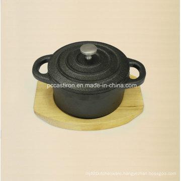 Preseasoned Cast Iron Mini Serving Cocotte Casserole