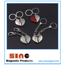 Heart Shape Magnetic Key Ring/Valentine Gifts for Couples