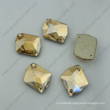 Crystal Ab Flat Back Garment Stones for Clothing Sewing