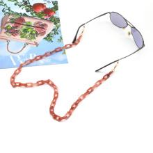 2020 2021 custom color  face masking chain lanyard strap for women acrylic eye glasses chain