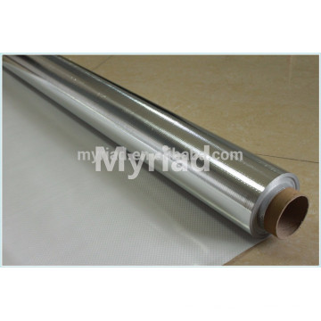 fiberglass cloth lamin aluminum foil, ,Reflective And Silver Roofing Material Aluminum Foil Faced Lamination