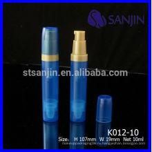2014 Новый продукт 5мл безвоздушный насос jar 10мл безвоздушный насос бутылка