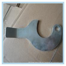 Punzonado y piezas de plegado CNC