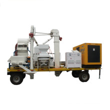 mobile maize/ wheat cleaning line