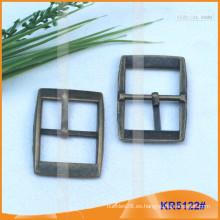Tamaño interior 24mm Hebillas de metal para zapatos, bolsa o cinturón KR5122