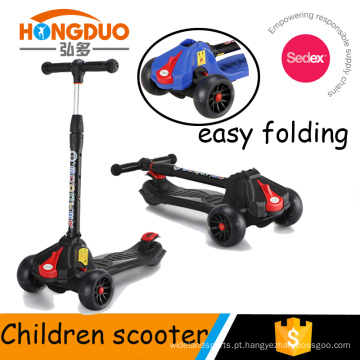 Botão de dobramento scooter de roda grande