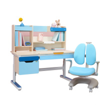 Kids furniture adjustable kids study table and chairs