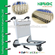 airport hand luggage carts trolley